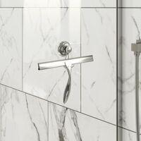 Bathroom Shower Screen Squeegee Bath Glass Cleaning Blade Ergonomic Hanger