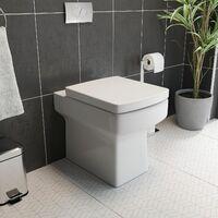 600mm Bathroom Drawer Vanity Unit Basin Toilet WC Concealed Cistern Gloss Grey