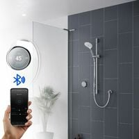 Mira Activate Digital Shower One Outlet Head Bathroom Gravity Pumped Rear Fed