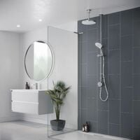 Mira Activate Digital Shower Dual Outlet Head Bathroom Gravity Pumped Ceiling