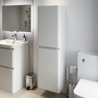 Bathroom Cabinet Cupboard Furniture Tall Storage Unit Tallboy Shelves Soft Close
