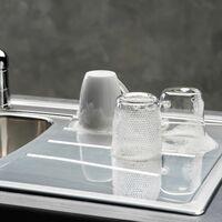 Reginox Diplomat 1.5 Bowl Kitchen Sink Inset Stainless Steel Reversible Waste