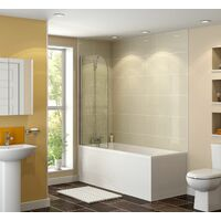 Complete Bathroom Suite 1600 Straight Bath Screen Toilet Basin
