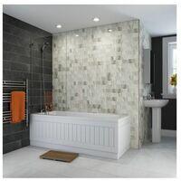 Cheap Bathroom Suite 1700 Straight Bath Toilet Basin Tap Shower
