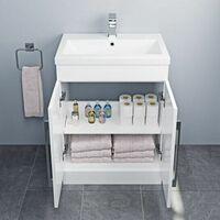 Amelie Toilet and 600mm Aurora Vanity Unit