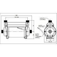 Stuart Turner Shower Pump Techflo TP Standard 2.0 Twin Impeller