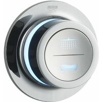 Mira Mode Dual Bath Filler and Pumped Chrome Shower 1.1874.012