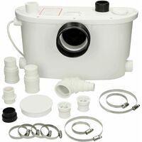 Flo-Force Max Domestic Sanitary Macerator Waste Pump White
