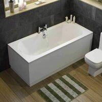 Bathroom Suite Toilet Basin Full Pedestal Double Ended 1700 Bath