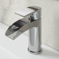 Architeckt Motala Basin Mixer Waterfall Tap Bath Mixer Tap Set