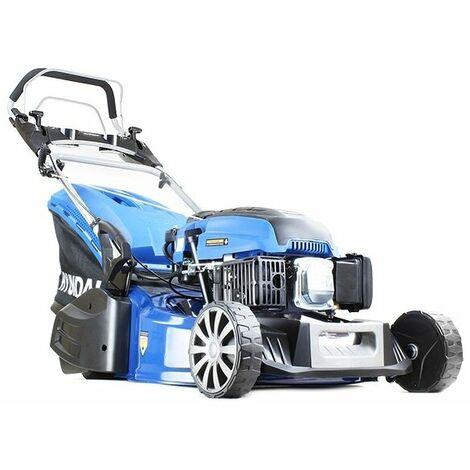 "Hyundai HYM480SPER 19"" 48cm 480mm Self Propelled Electric Start 139cc Petrol Roller Lawn Mower - Includes 600ml Engine Oil"
