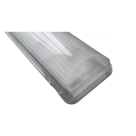Réglette étanche Pour Double Tube LED 120cm - Tos CLAREO