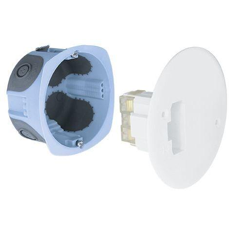 Boîte D'applique Air'metic Dcl Rt2012 Diamètre 67mm - à Griffes - Eur'ohm 53075