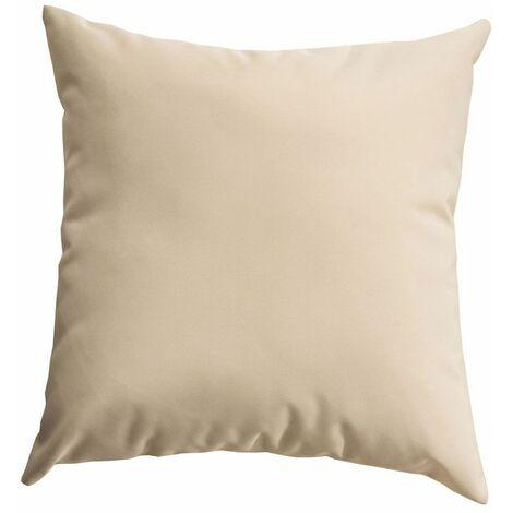 Coussins de décoration pour salon de jardin 45 x45 cm beige