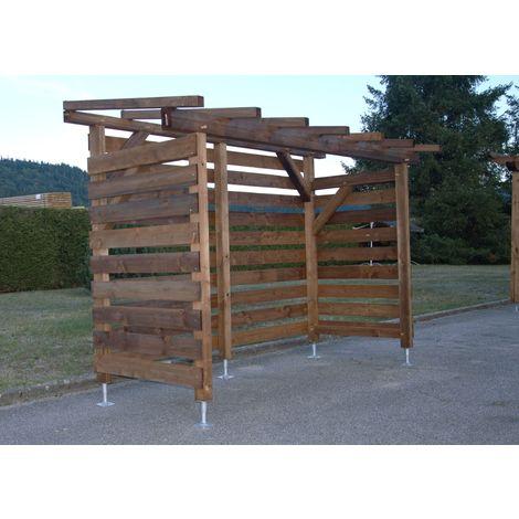 Garage à vélo en bois | Robuste