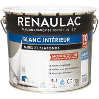 Peinture Guittet Mat 78 Hydroplus Blanc 1l Aspect Mat Couleur