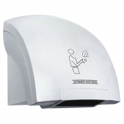 Sèche-mains électrique automatique mural avec cellule photoélectrique à air chaud