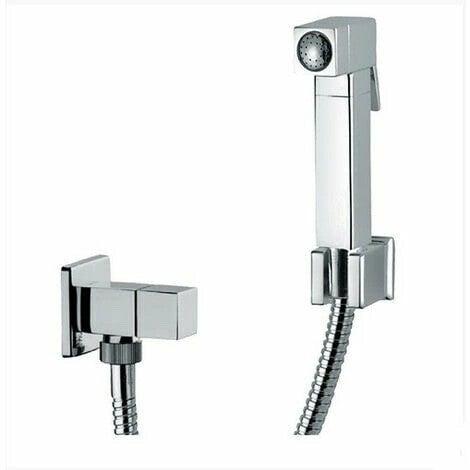 Ensemble douchette Hygiénique pour WC avec mitigeur eau chaude et froide