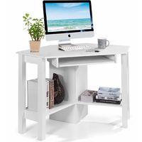 Schreibtisch Arbeitstisch Bürotisch Holz Zementfarbe Grau Modern Design PRATICO