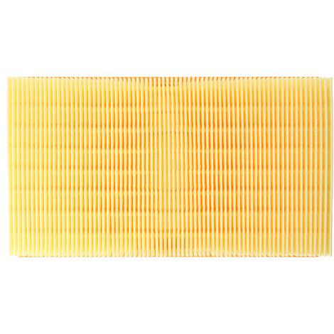 Staubsaugerfilter für Staubsauger wie Kärcher 6.904-367.0, 6.907-012-0, 6.907-012.0, 6.907-242.0, 6.907-455.0 , Flachfalten-Filter