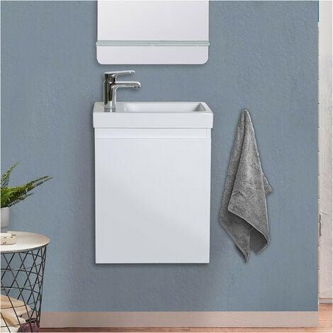 Meuble lave-mains Blanc LISA - Blanc
