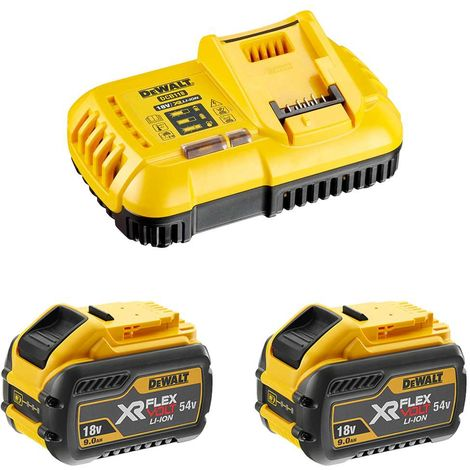 Power Set DeWALT FlexVolt (2 x 54V/18V 9,0 Ah DCB118)