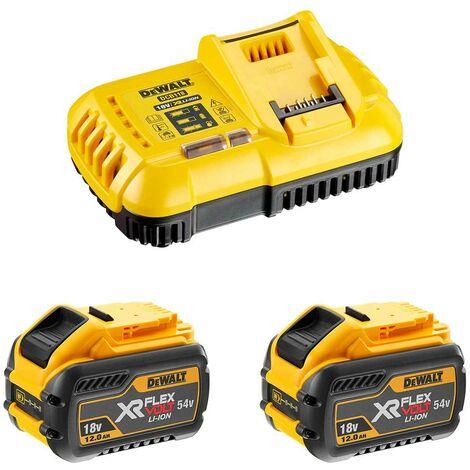 Power Set DeWALT FlexVolt DCB118Y2 (2 x 54V/18V 12,0 Ah DCB118)