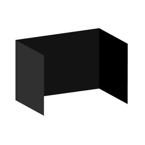 Packs Laterales Carpas Plegables - Pack 3 Laterales Lisos para Carpas 3x4,5 Master - Negro