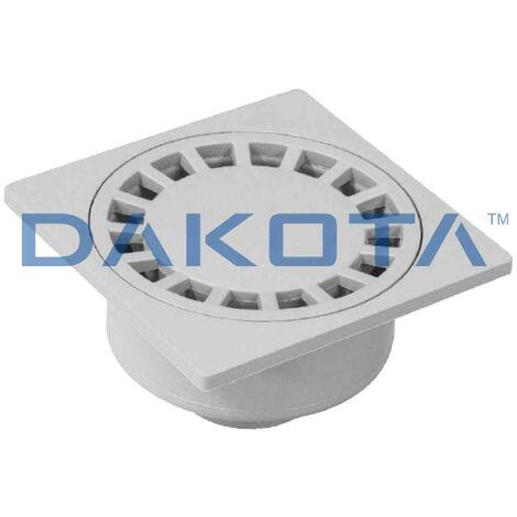 Chiusino sifonato in PVC Dakota - Dimensione: 10x10 cm
