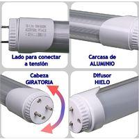 Jandei Tubo led T8 18W 1200mm, 1620 lúmenes, 18W (Equivale a 36W blanco 6000K 185-240V Conexión G13 1 lado 175-265V
