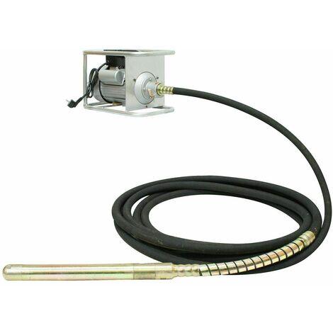 Varan Motors - ZN70FG45X12M Aiguille vibrante, vibrateur de béton électrique 2200W Ø 45mm 12m - Noir
