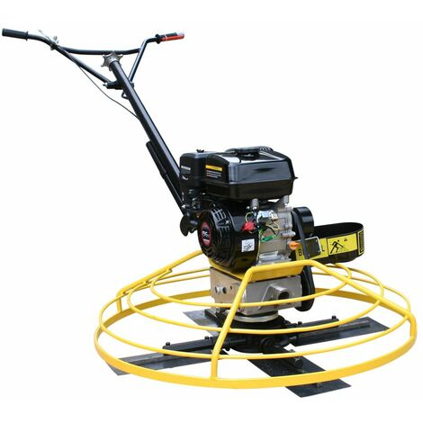 Varan Motors - BP-S100L Hélicoptère, lisseuse mécanique 100CM moteur Loncin pour lissage de chape, béton - Giallo