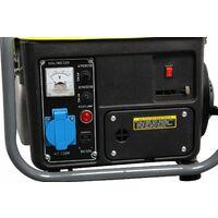 Varan Motors - 92508-2 Groupe électrogène portable essence 750W, 1 x 230V, 1 x 12VDC - Gris