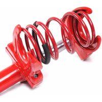 Varan Motors - NESGC-02 Compresseur de ressort d'amortisseurs hydraulique 1 Tonne, modèle Portable - Rouge