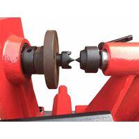 Varan Motors - NEWDL-06 Tour à bois avec variateur et affichage digital 550W - Rouge