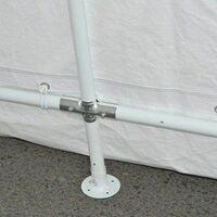 Bc-elec - 578-011 Carport extérieur,tente pour automobile, tente garage 6x3.6x2.75m - Gris