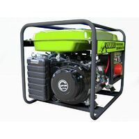 Varan Motors - 92521 Groupe électrogène essence 7.0 kVA 1x 400V 1x 230V 1x 12VDC - Gris