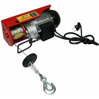 Varan Motors - var-PA300M Treuil palan électrique 230V 150 / 300KG 600W avec télécommande - Rouge