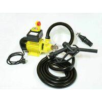 Pompe /à carburant diesel auto-amor/çante Pompe /à fioul Pompe /à diesel portable 60 l//min 230 V 550 W