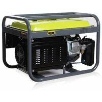 Varan Motors - 92510 Groupe électrogène essence 2.3 kVA 1x 400V 3x 230V 1x 12VDC Générateur électrique - Gris