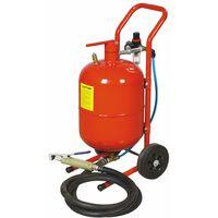 Varan Motors - NESB-01-1 Sableuse mobile 19 litres 4-9 bar avec Accessoires - Rouge