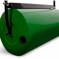 Varan Motors - GRD-ROL Rouleau de Jardin, rouleau à Gazon en métal, volume 48L - rouleau 32x61cm - Vert