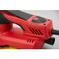 Varan Motors - S1A-HD01-150 Ponceuse orbitale digitale 6'' / 150mm 350W avec tuyau d'aspiration - Rouge
