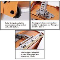 Varan Motors - PH-10 Machine à joints de plaque de plâtre, jointeur automatique 25cm de large - Jaune