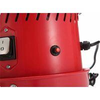 Varan Motors - NEDC-15 Dépoussiéreur pour cabine de sablage 1100W 230V - Rouge
