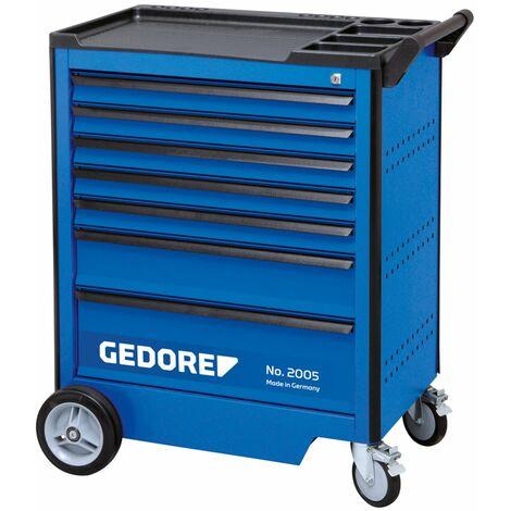 Gedore Servante d'atelier avec assortiment d'outils, 308 pièces - 2005-TS-308