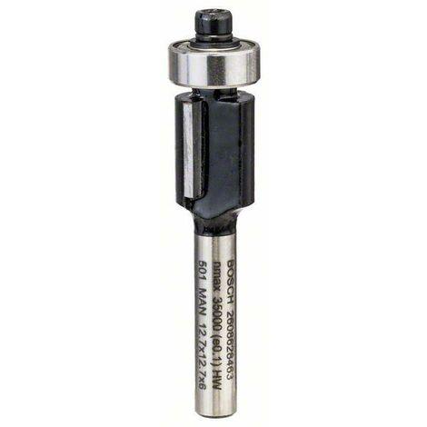 Bosch Fraises à rainurer laminées 6mm, D1 12,7mm, L 12,7mm, G 56mm - 2608628463