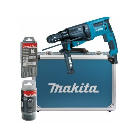 Makita Perfo-burineur SDS-Plus 800 W 26 mm, 800W, coffret alu - HR2631FT13