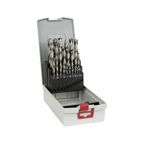 Bosch Coffrets de forets à métaux rectifiés HSS, 1-13 mm - 2608587017
