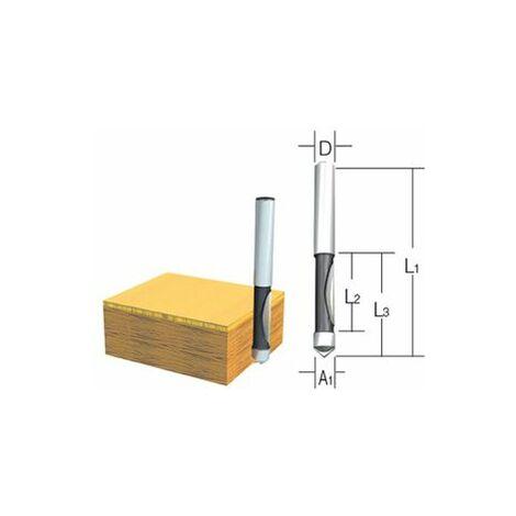 Makita Fraises à copier ou d'ajourage 2 taillants 6mm - D-09335